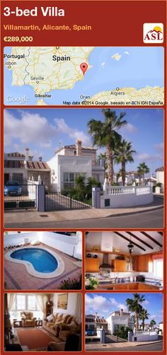 3-bed Villa in Villamartin, Alicante, Spain ►€289,000 #PropertyForSaleInSpain