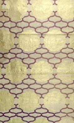 yorkeantiquetextiles:    Detail of silk brocade cloth. 19th century, Japan. Harvard Museum.Harvard Art Museums/Arthur M. Sackler Museum, Bequest of Hervey E. Wetzel