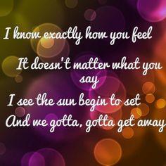 """#LyricArt  """"Love Will Tell Us Where to Go"""" by Bridgit Mendler"""