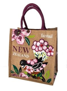 New Zealand Accessories Birthday Gifts For Her Beautiful Kiwi Shopping Bag Women