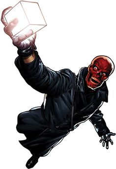 red skull comic - Google Search