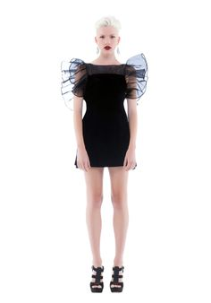 Fame & Partners Warrior Prom Dress- Shop it now at NYLONshop: http://shop.nylonmag.com/collections/whats-new/products/warrior