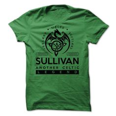 SULLIVAN CELTIC T-SHIRTIF YOURE PART OF THE SULLIVAN CLAN, then this shirt is for you! Whether you were born into it, or were lucky enough to marry in, show your strong CELTIC Pride by getting this limited edition SULLIVAN LEGEND shirt today.   UNIQUE LIMITED EDITION HOODIE ONLY $39.99 - ends soon in a few days, so get YOURS NOW before its gone! SULLIVAN CELTIC T-SHIRT