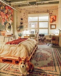 60 rousing bohemian living ideas ideas Related Enthralling Bohemian Style Home Decor Ideas , New Jungalow HQ: Big reveal! Bohemian Living, Bohemian Style Home, Boho Chic, Bohemian Homes, Room Interior, Interior Design Living Room, Living Room Decor, Bedroom Decor, Bedroom Ideas