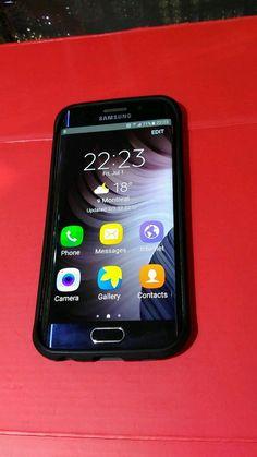 Samsung Galaxy S6 Edge SM-G925A - 32GB - Black unlocked Smartphone