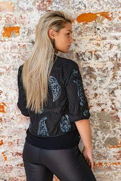 Jackets | Rubyyaya | Yes Clothing Boho Style, Fabric Design, Boho Fashion, Hooded Jacket, Clothing, Sleeves, T Shirt, Jackets, Outfits