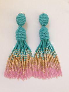 Crochet Earrings, Jewelry, Fashion, Ear Rings, Moda, Jewlery, Jewerly, Fashion Styles, Schmuck