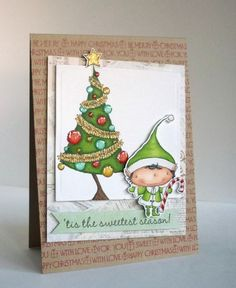 Card by Alice Wertz using Purple Onion Designs stamps designed by Stacey Yacula.
