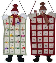 Conto alla rovescia per Natale con un Calendario dell'Avvento fatto a mano creato dai bambini. Dal più semplice al più complesso, affrettatevi a farne uno a casa o a scuola.
