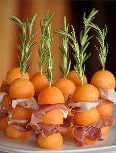 Melon, presunto & rosemary ::: melão, presunto & rosmaninho/alecrim