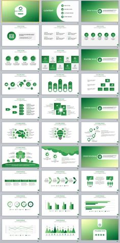 28+ Best Green Report PowerPoint templates