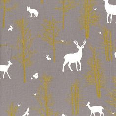 Timber Valley in Fog MD6462 - BRAMBLEBERRY RIDGE by Violet Craft - Michael Miller Fabrics - By the Yard