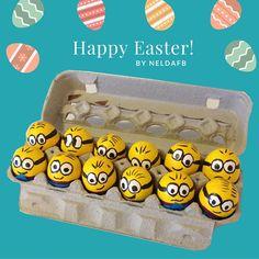 DIY Easter Eggs Minions