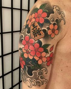 #桜 SAKURA and #王将 KING by ICHIBAY @hide_ichibay #threetidestattoo #tokyothreetides #ichibay #ichibay3tides #cherryblossom #ohsho #irezumi #horimono #wabori #japanesetattoo #japanesestyle #japanesechess Oriental, Japan Tattoo, Irezumi, Body Modifications, Ink Art, Art Forms, Cherry Blossom, Art Inspo, Japanese