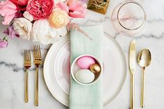 Whether you're celebrating Easter, Passover or just the arrival of Spring, we've got ten gorgeous tablescape ideas to help inspire you.