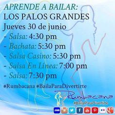 Aprende a con Bailar con #Rumbacana Invita un amigo al #SanoVicioDeBailar  Envía un whatsapp al 58 416 831 0380 #BailaParaDivertirte