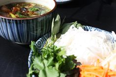 (Pronounced bun char) In Hanoi Bun cha is the main dish that locals eat for lunch. They'll have pho for breakfast and grilled meats for dinner. This perhaps is the best example of Vietnamese flavou…
