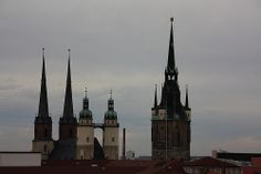 Five Towers of Halle(Saale)
