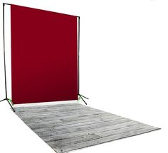 Gray Pine Backdrop / Floordrop Set -- Still at an unbeatable price! Now save $55 on this 3 piece studio set!