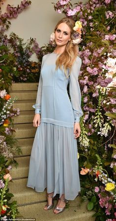 New face: Poppy was unveiled as the first ever celebrity ambassador for Jo Malone...