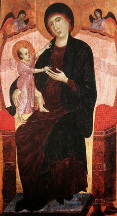 Madonna Gualino (1280-1283 circa; Torino, Galleria Sabauda)