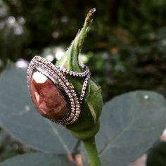 Platinum rustic diamond Zoe fine jewelry