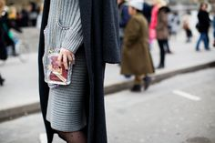That Channel Bag....!! Street Style: Spring 2015 Couture – Vogue