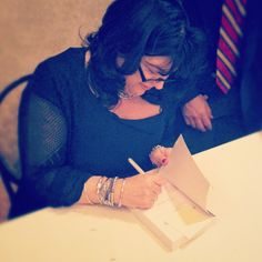 The 50 Shades book signing with E L James.