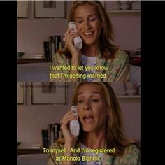 My all time favorite SATC Ep.