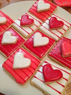 #Valentine's sugar #cookies   Courtney's Confections   @courtneysconfectionsok