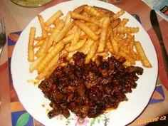 Játra po ďábelsku Steak, Food, Cooking, Essen, Steaks, Meals, Yemek, Eten