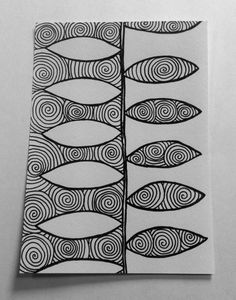 Positive/Negative (Great Exercise For Drawing, Doodling, & Zentangle) Zentangle Drawings, Doodles Zentangles, Zentangle Patterns, Doodle Drawings, Doodle Art, Zen Doodle Patterns, Stencil, Tangle Art, Art Graphique