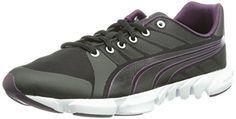 Puma Formlite Xt Ultra2 Ombre Wns, Damen Hallenschuhe, Schwarz (black-white-potent purple 03), 36 EU (3.5 Damen UK) - http://kameras-kaufen.de/puma/puma-formlite-xt-ultra2-ombre-wns-damen-schwarz-03