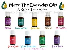 everyday oils introduction