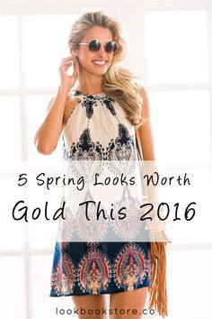 Style Tips // Look as fresh as spring with these hairstyles + outfit that are going to be rad for SS '16!