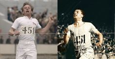 """Did you know that Eric Liddell's widow loved the film """"Chariots of Fire"""" but thought the only detail they got wrong was that her husband was a much more graceful runner?  Have you seen the film? What do you think?  David Puttnam (producer of the film) was surprised because they copied his running style from newsreel films of the era. #DidYouKnow #EricLiddell #ChariotsOfFire ——— ¿Sabías que a la esposa de Eric Liddell le encantó la película """"Carros de Fuego"""" pero le pareció que únicamente les…"""