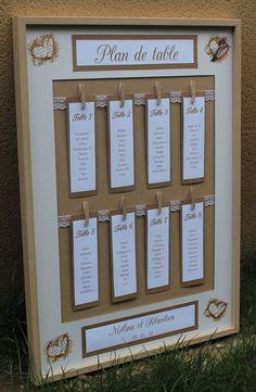 Plan de table gamme Table top n ° 2 range Wedding Seating, Wedding Table, Wedding Reception, Chic Wedding, Elegant Wedding, Rustic Wedding, Wedding Country, Wedding Decorations On A Budget, Budget Wedding