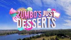 Zumbo's Just Desserts title card. Best Tv Shows, Favorite Tv Shows, My Favorite Things, Frosty Fruit, Zumbo's Just Desserts, Zumbo Desserts, Great Australian Bake Off, Adriano Zumbo, Netflix Kids