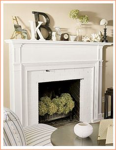 Unused-Fireplace-Greenery-Plants | Flickr - Photo Sharing!