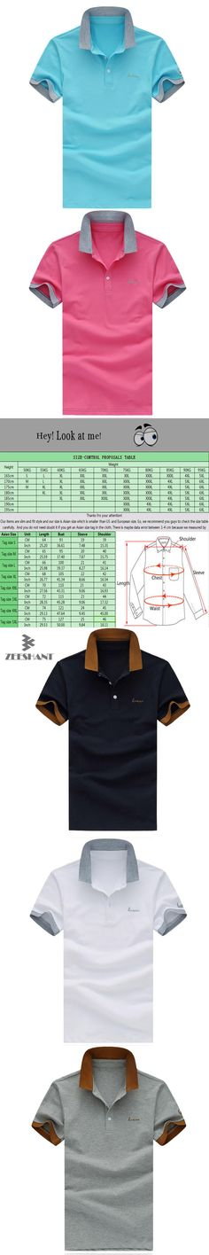 Men's Polo Shirt For Men Designer Polos Men Cotton Short Sleeve Shirt Brand Logo Polo Clothing Jerseys in Men's Polo Shirts
