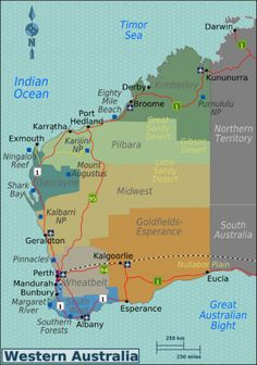 Western Australia travel guide – Wikitravel Source by ssueur Great Barrier Reef Australia, Esperance Australia, Travel Guides, Travel Tips, Travel Goals, Australia Occidental, Places To Travel, Travel Destinations, Camping Places