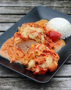 Paprika Sahne Hähnchen aus dem Backofen - Soulfood pur!