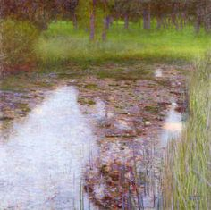 Gustav Klimt - The Swamp (1900) - Google Search