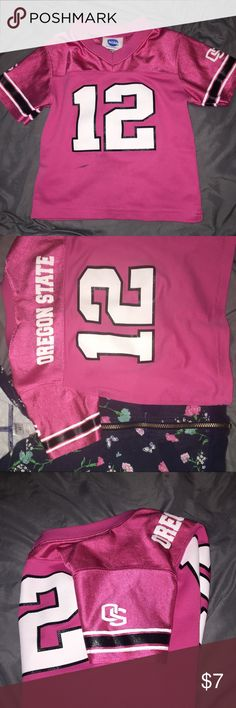 Size 3T Girls Jersey Oregon State Jersey. Pink, size 3T Girls NCA Shirts & Tops Tees - Short Sleeve