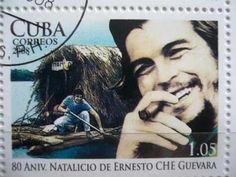 Selos Cubanos homenageiam o Comandante Ernesto Che Guevara. Cuba, Ernesto Che Guevara, Freedom Fighters, Popular Culture, Revolutionaries, Author, Retro, Revolutions, Flora