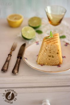 Mojito Squared Bundt Cake