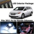 Classy Autos White LED Lights Interior Package For Honda Odyssey (9 Pieces)