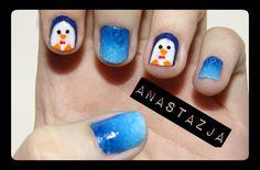 penguin #nail #nails #nailart