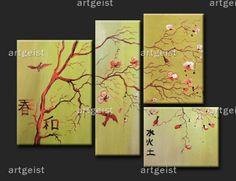 feng shui wandbilder geisha wandbilder feng shui asiatische bilder asia pinterest feng. Black Bedroom Furniture Sets. Home Design Ideas