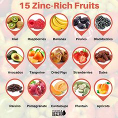 Zinc is an important mineral that must be a part of your daily diet. So here& a list of 15 zinc rich fruits to eat for better health. Foods High In Zinc, Zinc Rich Foods, Foods With Zinc, Foods That Contain Zinc, What Foods Have Zinc, Iron Rich Foods, Vegan Nutrition, Health And Nutrition, Health And Wellness